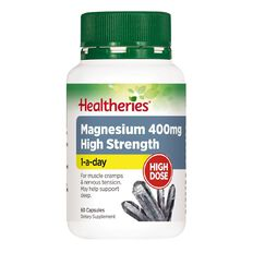 Healtheries Magnesium High Strength 400mg 60s