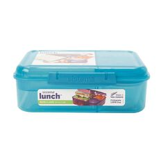 Sistema Bento Box Lunch Tint Assorted 1.65L