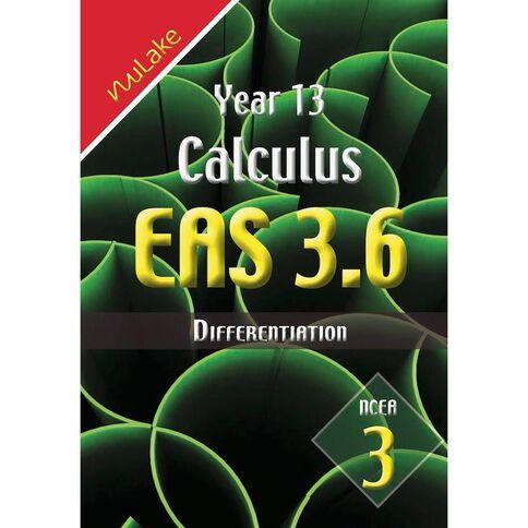 Nulake Year 13 Mathematics Eas 3.6 Differentiation