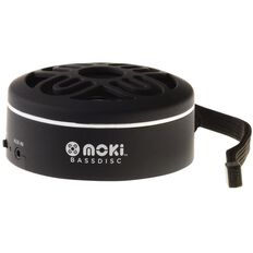 Moki BassDisc Bluetooth Speaker Black