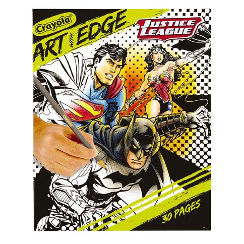 Crayola Art With Edge Justice League Colouring Book