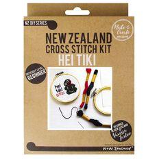 NZ Embroidery Hei Tiki 19cm x 15cm