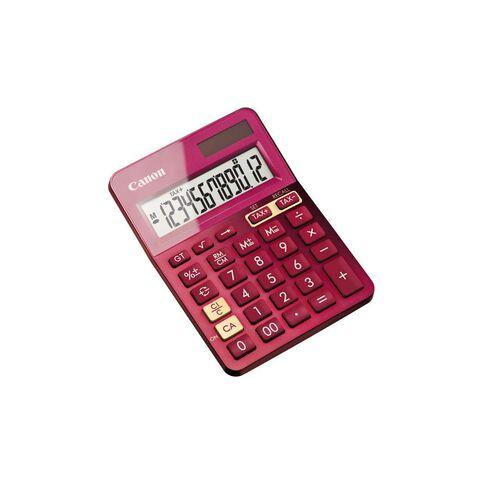 Canon LS-123K Desktop Calculator Pink