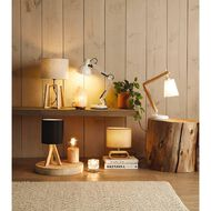 Living & Co Lilou Table Lamp Black