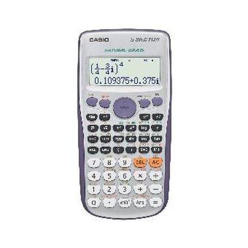 Casio Calculator FX100AU Plus Scientific