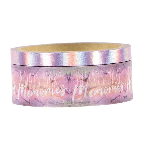 Uniti Moment in Time Washi Tape 2 pack Memories