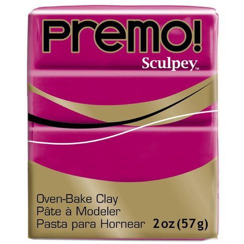 Sculpey Premo Accent Clay 57g Fuschia Pink