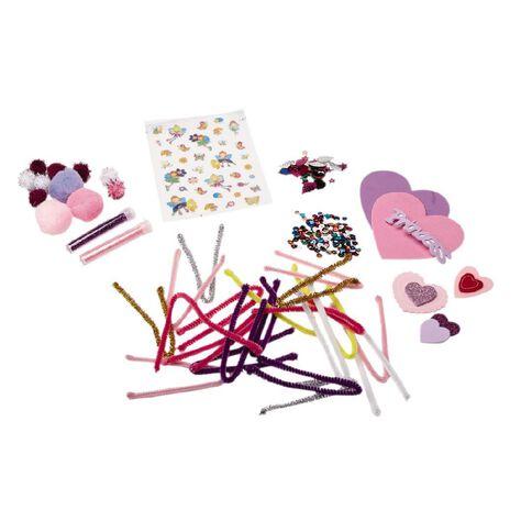 U-Do Craft Essentials Plastic Tub Pink