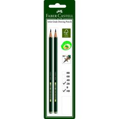 Faber-Castell Drawing Pencil 9000 2B HB 2 Pack