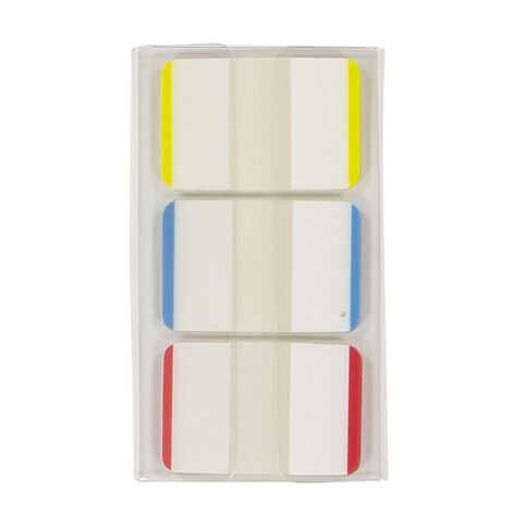 Impact Coloured Sticky Tabs 25mm x 38mm 22 Sheet 3 Pack