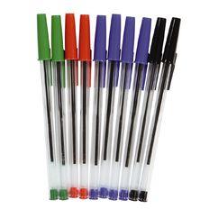 Ballpoint Pens Mixed Assortment 10 Pack