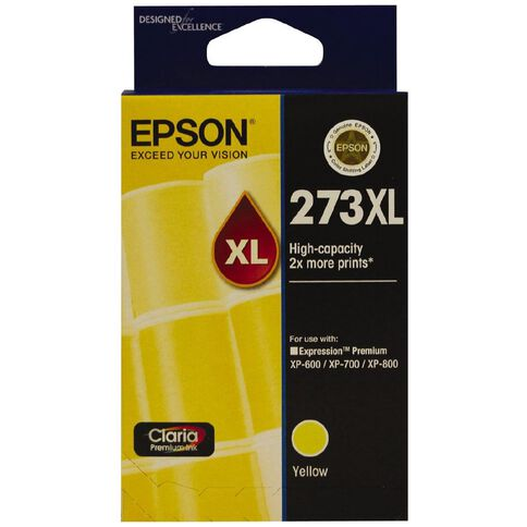 Epson Ink 273XL Yellow (650 Pages)