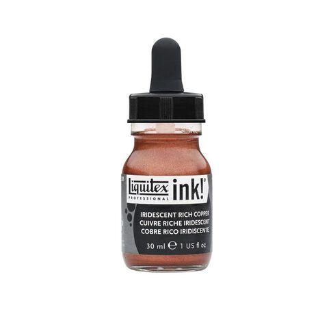 Liquitex Ink 30ml Iridiscent Copper