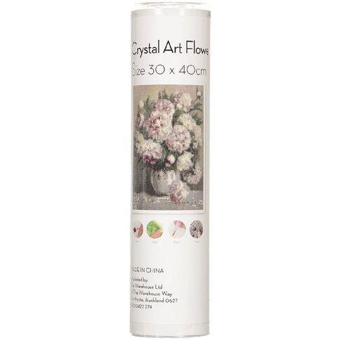 Uniti Crystal Art 30cm x 40cm Flowers