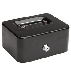 Impact Cash Box Black 6 inch