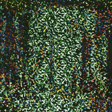 WS Book Cover Holographic Green 45cm x 1m
