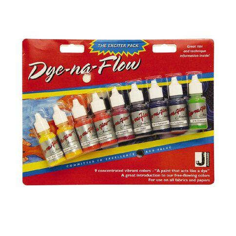Jacquard Dye-Na-Flow Exciter Pack 9
