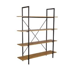 Workspace Loft 4 Tier Bookcase