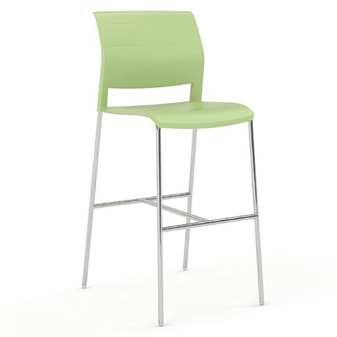 Game Barstool Pistachio Green