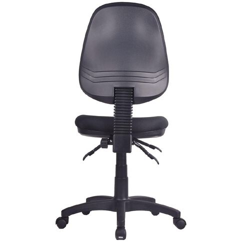Workspace Ergo 3 Lever Highback Task Chair Black Black