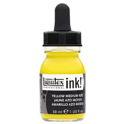 Liquitex Ink 30ml Medium Azo Yellow