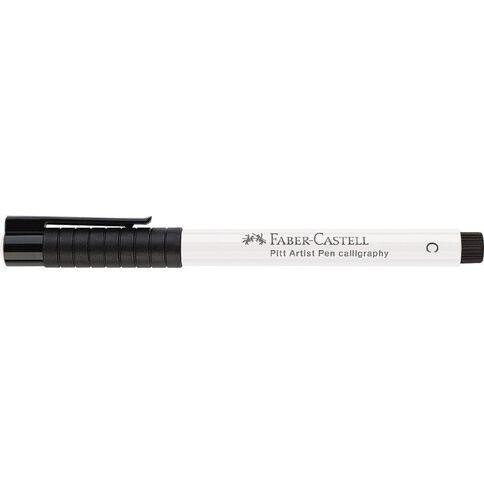 Faber-Castell Pitt Artist Pen Calligraphy White