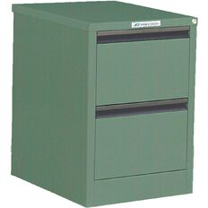 Precision Classic Filing Cabinet 2 Drawer River Gum Green