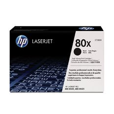 HP 80X Black Contract LaserJet Toner Cartridge (6900 Pages)