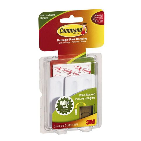 Command Wire-Backed Picture Hanger Value Pack