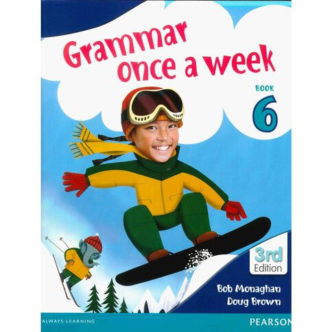 Year 6 Grammar Once A Week 6