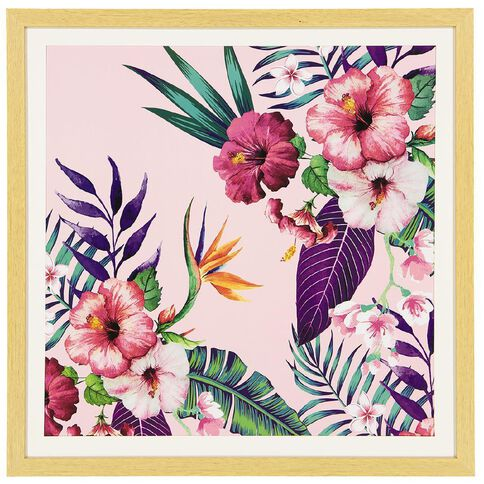 Uniti Soft Pop B Framed Art 50 x 50 cm
