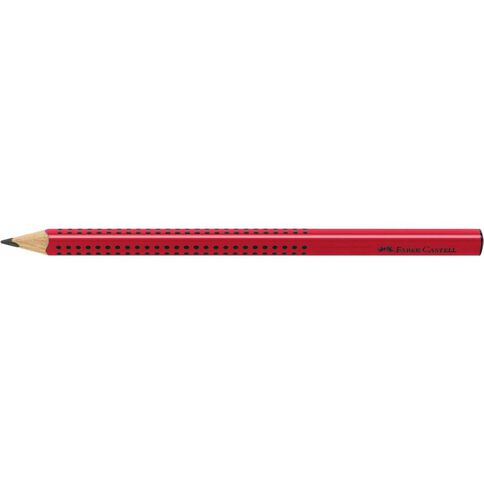 Faber-Castell Junior Grip 2B Pencil Raised Dots Black