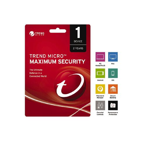 Trend Micro NZTMIS Maximum Security 1D 2Y ESD