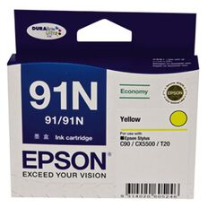 Epson Ink Cartridge 91N Yellow (210 Pages)