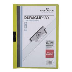 Durable Report Cover 30 Sheet Green