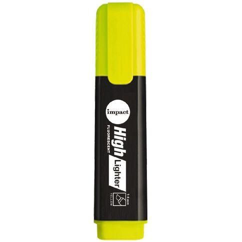 Impact Highlighter Single Yellow