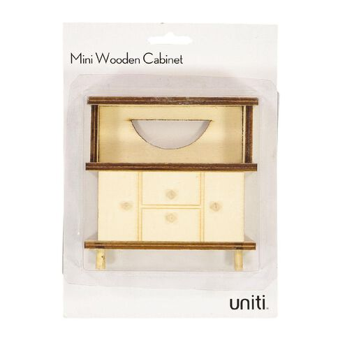 Uniti DIY Wood Mini Cabinet