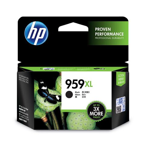 HP Ink 959XL Black (3000 Pages)