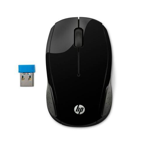 HP 200 Wireless Mouse Black