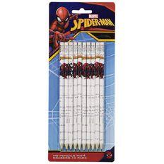 Spider-Man HB Pencil With Eraser 10 Pack