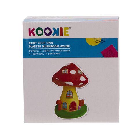 Kookie Paint Your Own Plaster Mushroom House