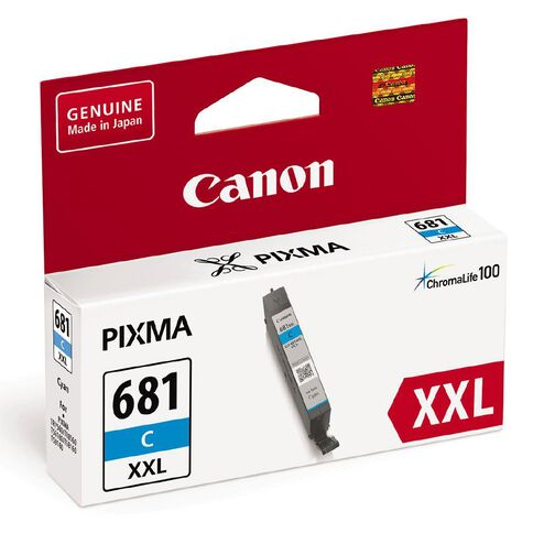 Canon CLI-681XXL Ink Cyan (800 Pages)