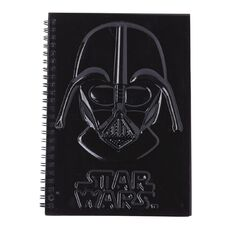 Star Wars Darth Vadar Spiral Notebook A5