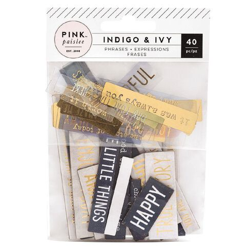 Indigo & Ivy Indigo and Ivy Ephemera Chipboard