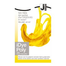 Jacquard iDye Poly 14g Yellow