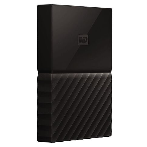 Western Digital My Passport 2TB USB 3.0 External HDD Black