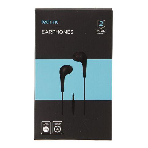 Tech.Inc In-Ear Earphones Black