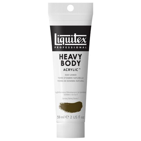 Liquitex Hb Acrylic 59ml Raw Umber Brown