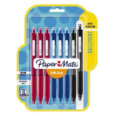 Paper Mate Inkjoy 300RT Business 8 Pack Pen Assortment