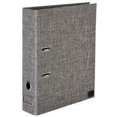 Uniti Lever Arch RPET Grey A4